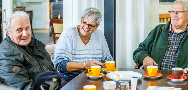 Koffieuurtje en Veteranen Caleidoz