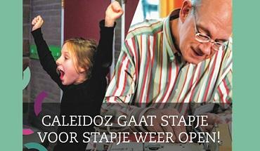 Caleidoz gaat (voorzichtig) weer open!
